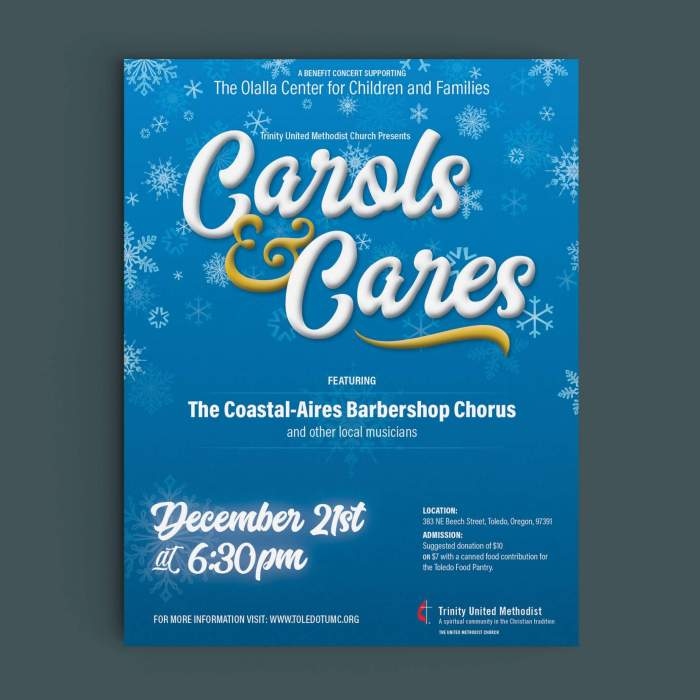 Carols and Cares Benefit Concert