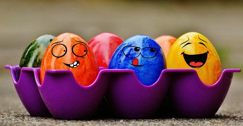 ouă paște - curățenia