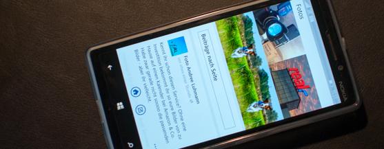Lumia 930 Facebook