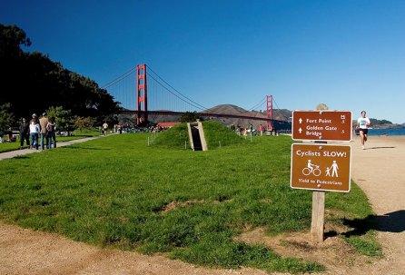 Солнечный ноябрьский денек в Сан-Франциско.