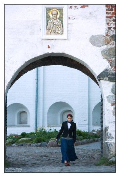 Никольские ворота Соловецкого монастыря.