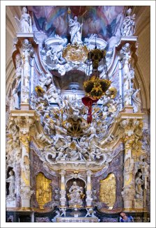 Дарохранительница Эль Транспаренте. Toledo Cathedral.