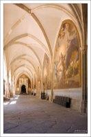 Галерея вокруг внутреннего двора Толедского собора.