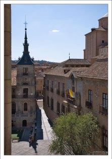Вид на площадь с высоты Толедского собора.