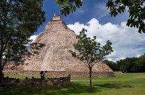 Закругленная Пирамида Волшебника. Ушмаль.