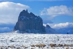 Shiprock - священная для Навахо скала.