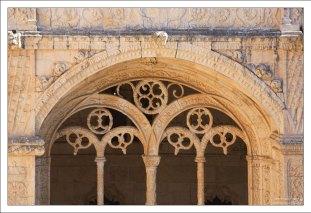 Смесь элементов готики, мавританского стиля, Ренессанса и экзотических мотивов. Монастырь Жеронимуш.