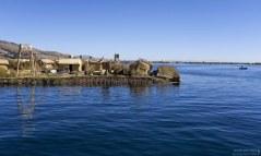 Титикака - крупнейшее озеро Южной Америки, высочайшее в мире судоходное озеро.