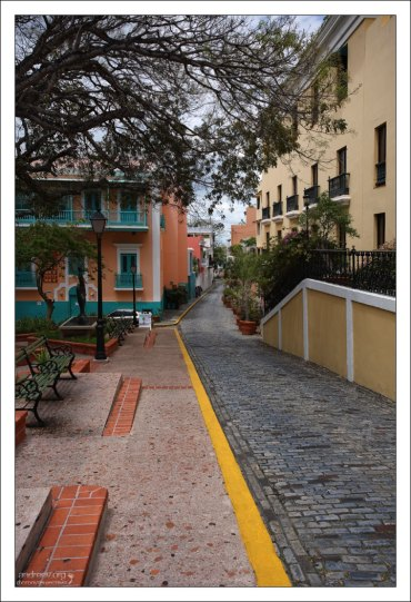 На улицах старого Сан-Хуана.
