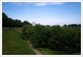 Глебовский мост в Рязанском Кремле.