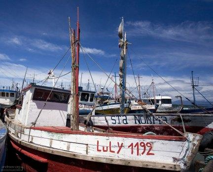 """Старая лодка """"Luly"""". Надеюсь, что это не год постройки :)"""