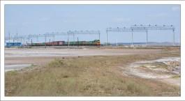 В 1884 году от Баскунчака до Владимировской пристани на Волге проложили железную дорогу.