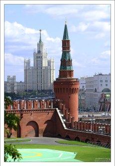 Кремлевская вертолетная площадка.