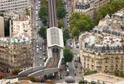 Одна из станций парижского метро.