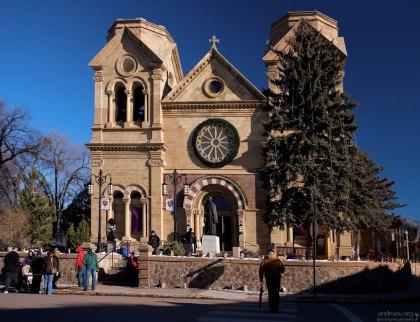 Собор-базилика Св. Франциска (Cathedral Basilica of Saint Francis of Assisi). Середина 19-го века.