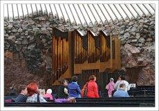 В органе церкви Temppeliaukion kirkko 3001 труба.