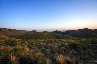Сумерки в пустыне.