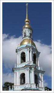 Колокольня Никольского морского собора.