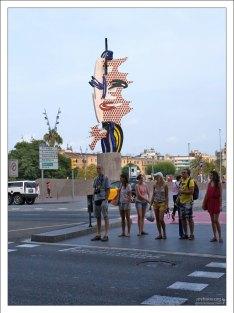 """""""Лицо Барселоны"""" (или """"Голова"""", El Cap de Barcelona)."""