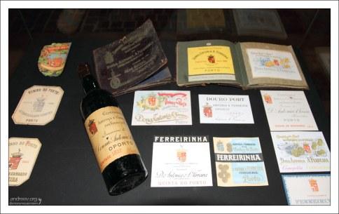 """Винтажные портвейновые этикетки компании """"Ferreira"""". Вила-Нова-де-Гайа."""