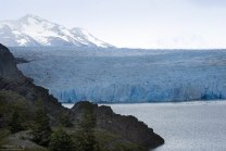 Фронтальная часть ледника Grey.