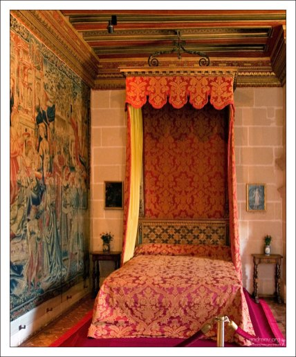 Королевский будуар. Замок Шенонсо.