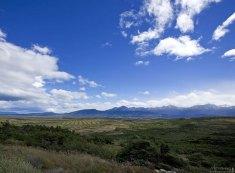Выезд из национального парка Torres del Paine.