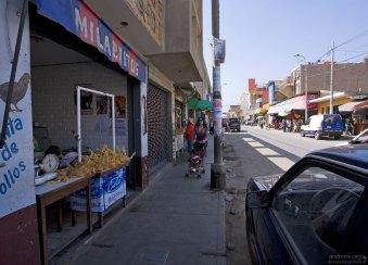 Торговая улица в Наске.