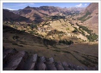 Долина реки Урубамба.