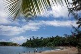 Пляж Cerro Gordo на севере острова популярен среди дайверов.