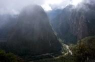 На входе в Мачу-Пикчу. Высота 2450 метров.