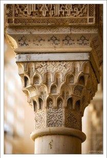 Точеные колонны Альгамбры.