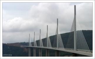Вантовая система моста.