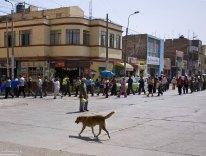 Любимое занятие перуанцев - митинговать.