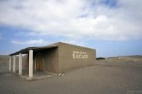 Небольшой музей в Sacaco, стоящий на дне древнего моря.