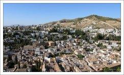 Нижний город возле Альгамбры.