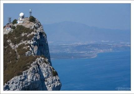 Обсерватория на самой высокой точке Скалы.