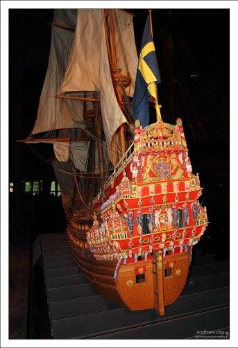 """""""Васа"""" - единственный в мире сохранившийся парусный корабль начала XVII века."""