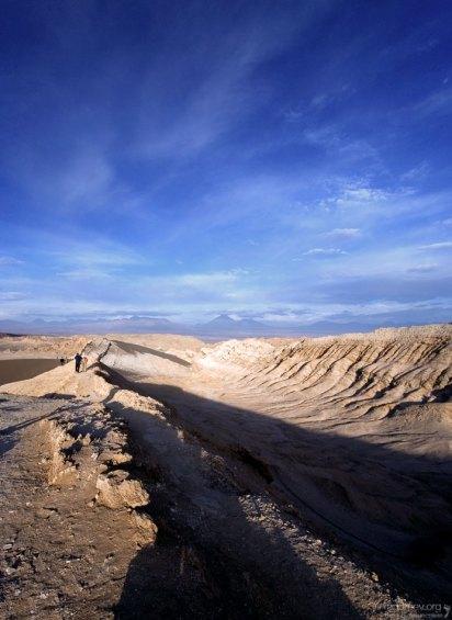 Верхняя часть Солёных гор.
