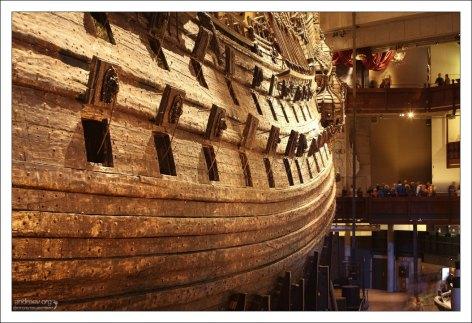 Vasa - один из самых крупных и дорогостоящих боевых кораблей шведского флота.