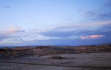 Сумеречное шоссе в Долине Луны.