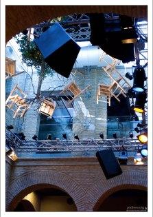 Внутреннее убранство в Музее фламенко (Museo del Baile Flamenco).