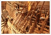 Vasa - шведский боевой корабль, спущенный на воду летом 1628 года.
