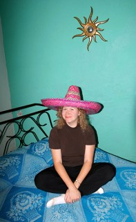 """В отеле """"Luz en Yucatan"""" в Мериде. Полуостров Юкатан."""