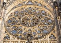 Фрагмент оформления фасада собора Св. Вита.