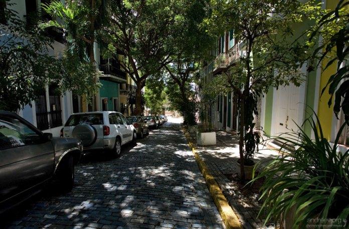 Улочки старого Сан-Хуана.