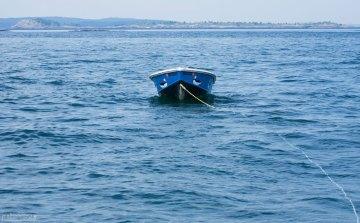 Лодка для высадки на Макиас-Сил.