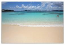 Сапфировый пляж.