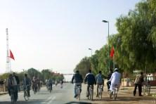 Повальное увлечение велосипедами в городе El-Rachidia.