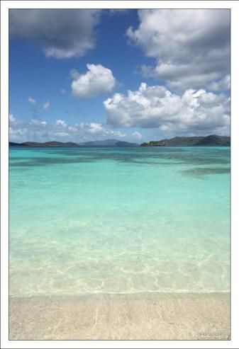 Райский уголок на Сапфировом пляже.